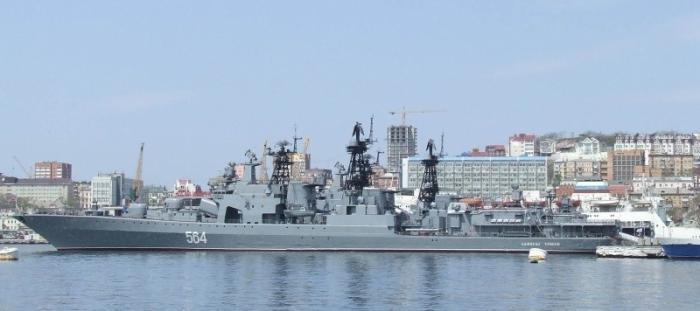 Русские большие противолодочные корабли направились в Азиатско-Тихоокеанский регион