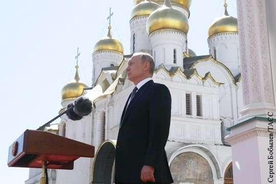 Владимир Путин позвал всех идти за собой на прорыв 2018 – 2024