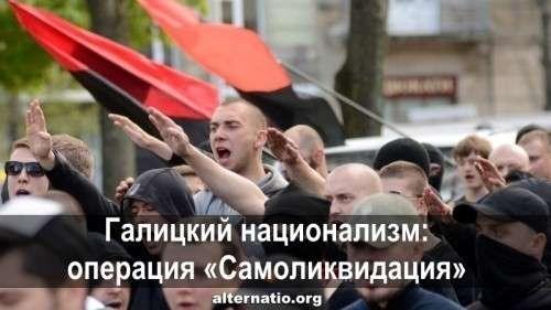 Галицкий национализм: операция «Самоликвидация»