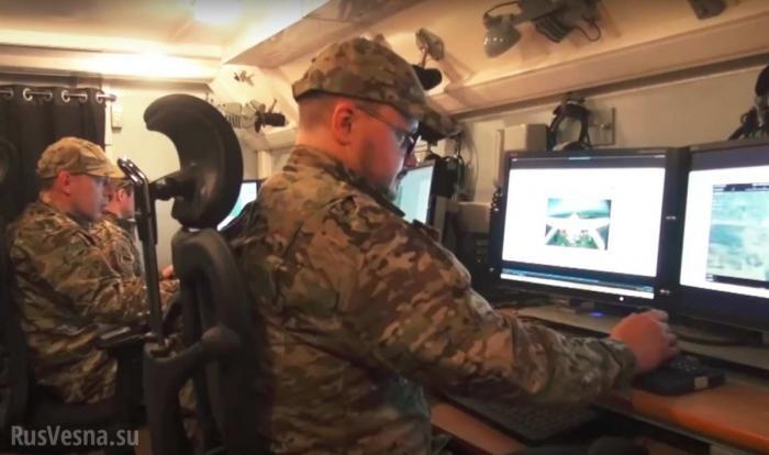 Новейший российский тактический беспилотник «Корсар» в действии