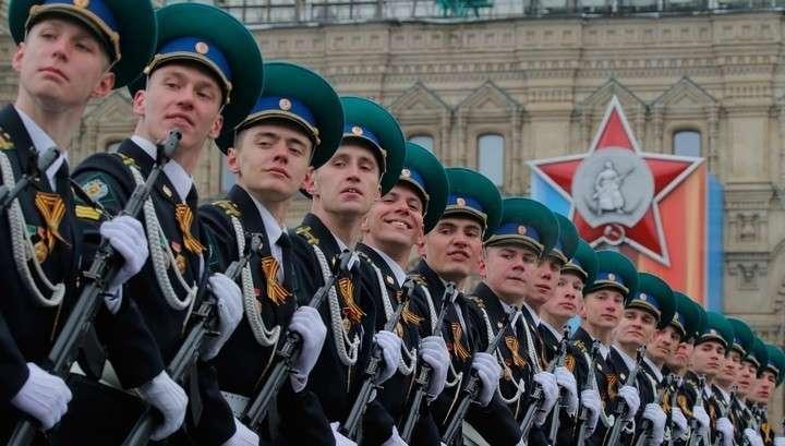 По всей России отмечают 9 мая – День Победы