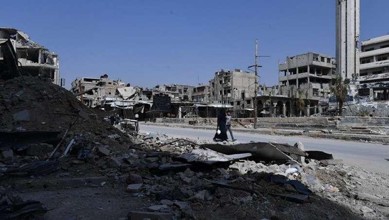 Террористический Израиль нанёс ракетный удар по Сирии