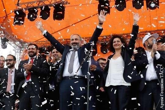 Главные уроки армянской оранжевой революции