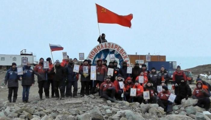 Бессмертный полк от Антарктиды до Ирана шагает по планете Земля