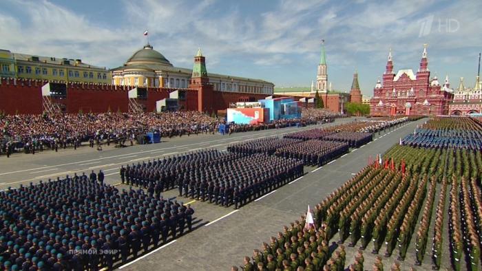 Парад Победы прямая трансляция с Красной площади 9 мая 2018