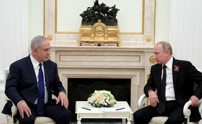 Переговоры Владимира Путина спремьер-министром Израиля Биньямином Нетаньяху