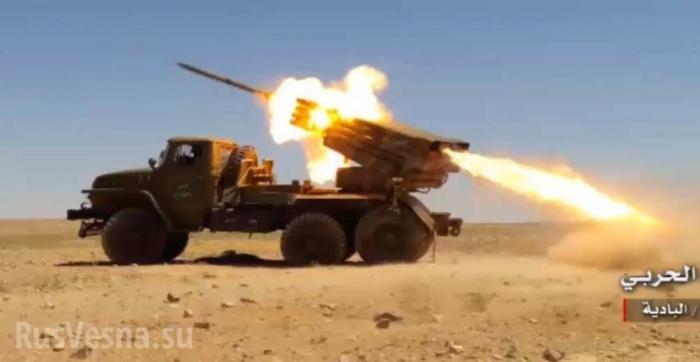 Армия Сирии и Ирана нанесли массированный удар по армии Израиля