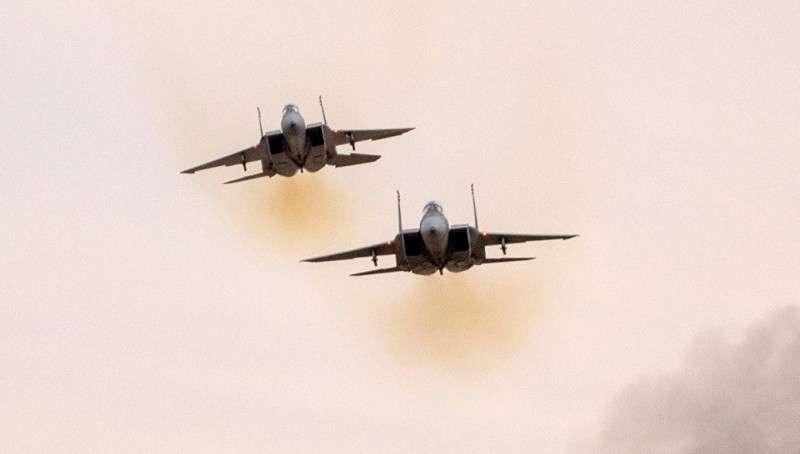 Террористический Израиль нанёс ракетный удар по десяткам целей в Сирии