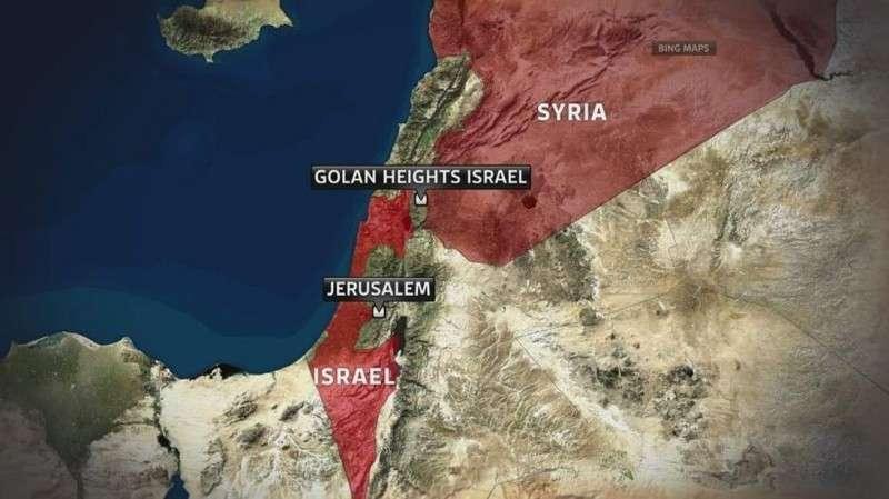 После ударов террористического Израиля по Сирии их наёмники атаковали город