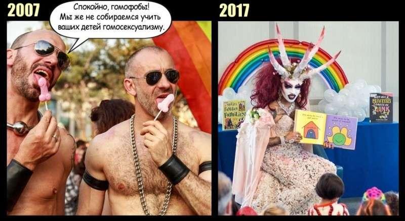 Как гомосексуализм неизбежно ведёт к деградации и извращениям 18+