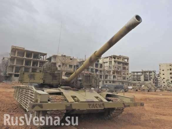 ДНР: снаряд взорвался около военкоров во время съёмки боёв в Дамаске | Русская весна