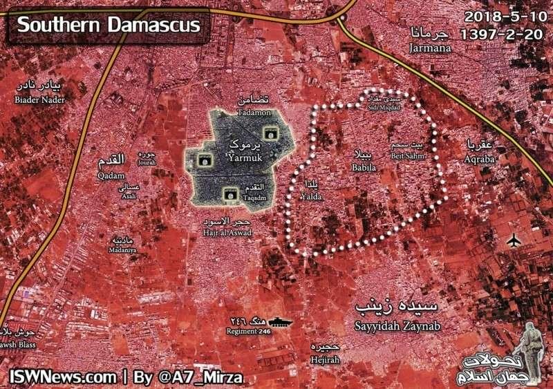 В Сирии спецслужбы Израиля объединяют своих террористов в провинции Кунейтра