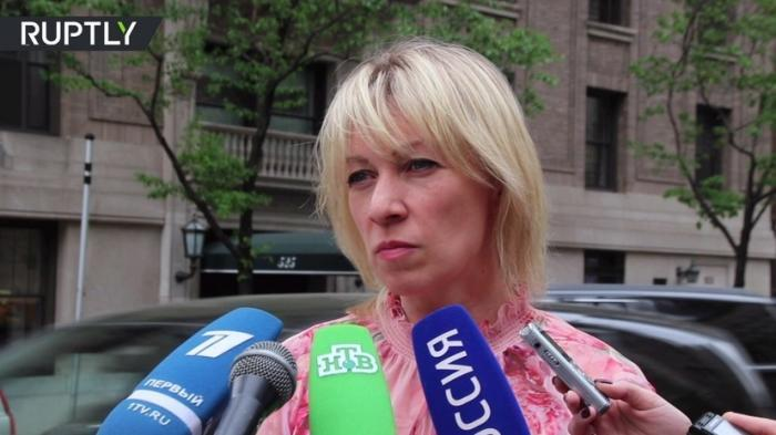 Захарова прокомментировала скандал на Украине вокруг исполнения её песни «Верните память»