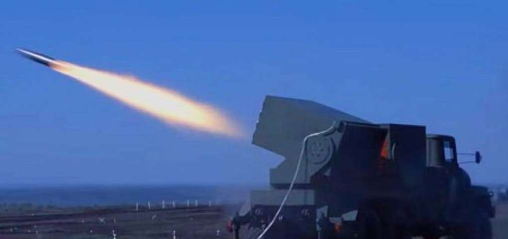 В ДНР опубликовали видео стрельб ракетных комплексов и РСЗО собственного производства
