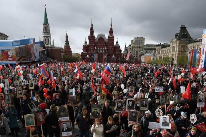 В Москве спецслужбы предотвратили теракт на шествии «Бессмертного полка»