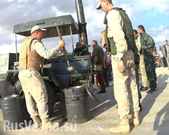Сирия, скрытая камера: «Злые русские воины заставили боевиков есть солдатскую кашу» | Русская весна
