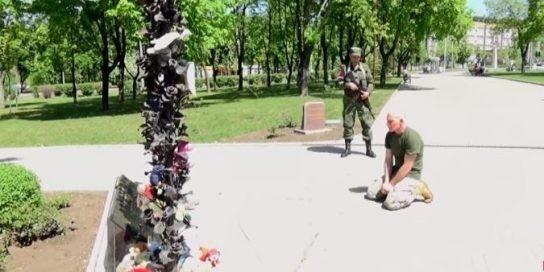 Пленный украинский каратель расплакался, узнав с кем на самом деле он воевал в Донбассе