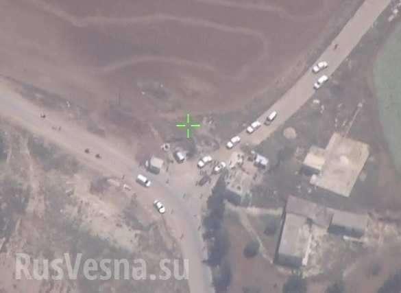 ВКС России вычислили боевиков, а ВВС Сирии превратили их в пепел | Русская весна