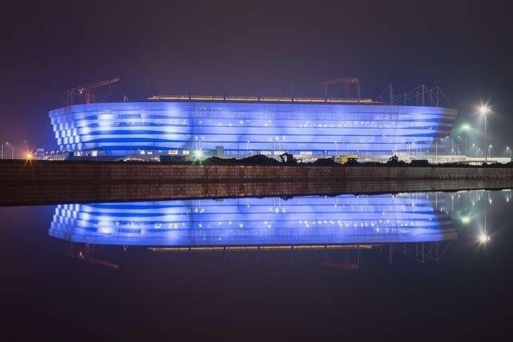 ВКалининграде открыта футбольная арена, построенная кЧМ 2018