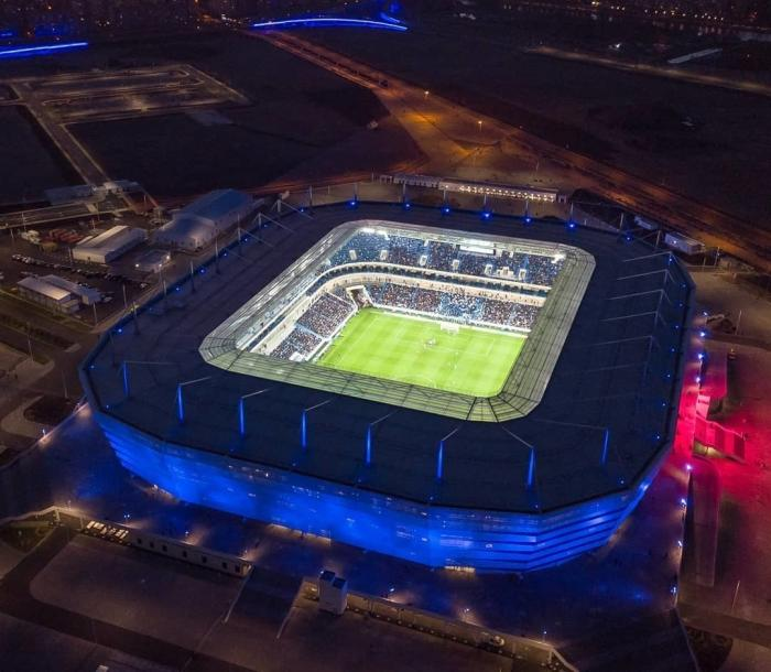 Калининград. Открыта футбольная арена, построенная кЧМ 2018