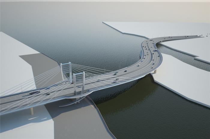 Петербург: открыт мост Бетанкура инабережную Макарова