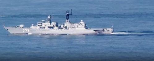 Российский фрегат «Ярослав Мудрый» затерроризировал флот НАТО в Средиземном море