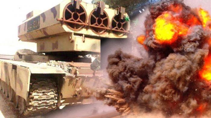 «Танковый спецназ» Сирии получил «ракетного монстра» на базе Т-72