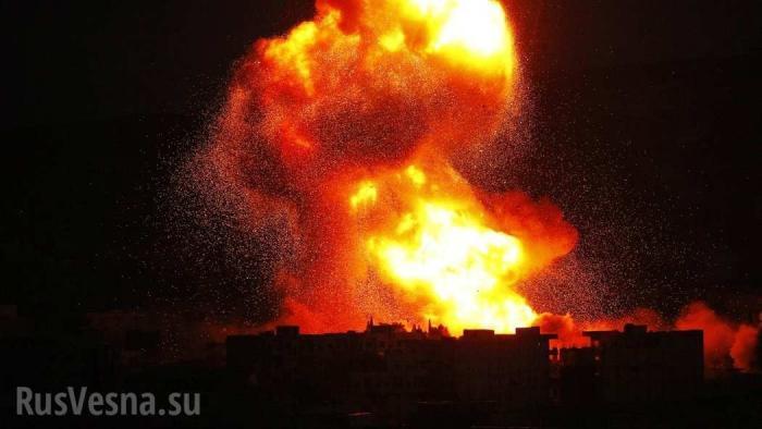 Сирия: подорван штаб наёмников США в Хасаке