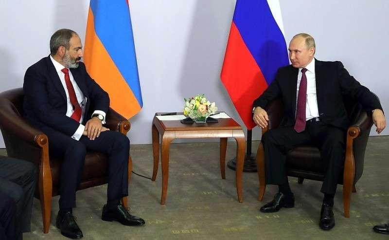 СПремьер-министром Республики Армения Николом Пашиняном.