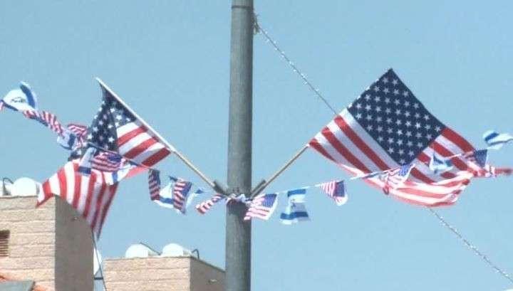 В Иерусалиме началась церемония открытия нового посольства США в Израиле