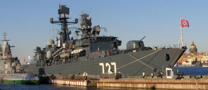 Иностранцы о «погоне» российского фрегата за авианосцем США в Средиземном море