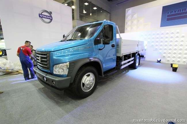 На ГАЗе дан старт производству среднетоннажного грузовика нового поколения