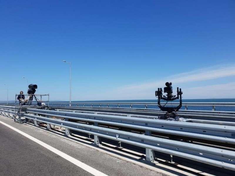 Мост в Крым – 27 месяцев строительства всего за 3 минуты. Как это было