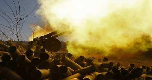 Укрокаратели открыли огонь по Горловке вовремя доставки гуманитарной помощи