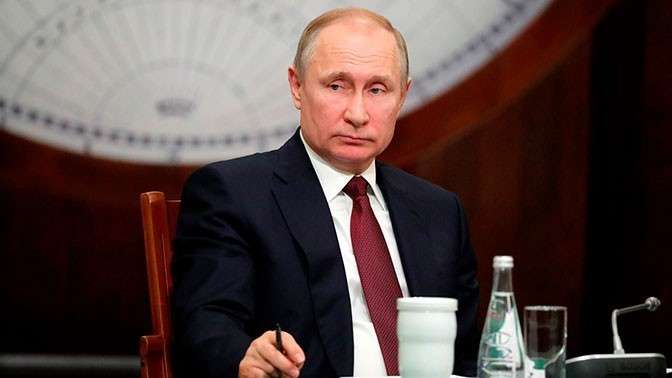 Владимир Владимир Путин подписал указ о структуре нового правительства