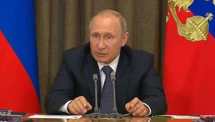 Россия приняла на вооружение новейшие образцы оружия – заявил Владимир Путин
