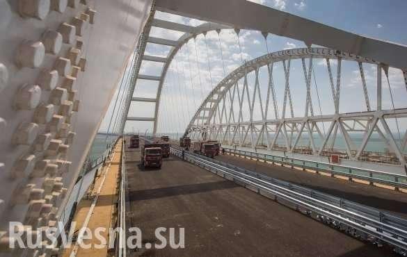 Укро-еврейская хунта строит планы, как бороться с Крымским мостом | Русская весна
