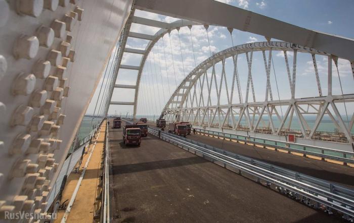 Укро-еврейская хунта строит планы, как бороться с Крымским мостом