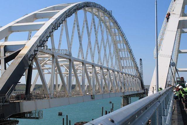Крымский мост – умная система движения. Репортаж