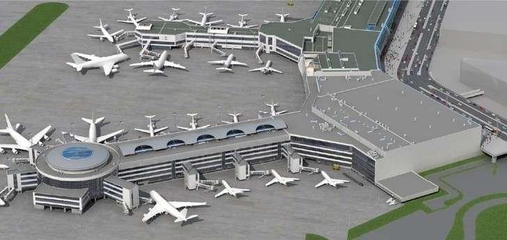 В Домодедово идёт строительство нового терминального комплекса Т2