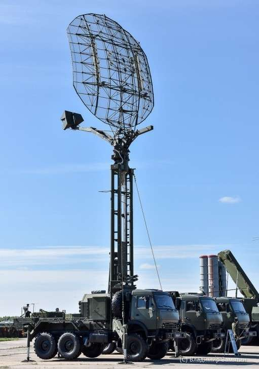Врадиотехнический полк ЮВО поступила новая радиолокационная станция «Каста-2»