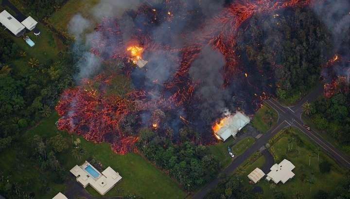 Извержение на Гавайях может в ближайшие дни стереть с лица земли часть архипелага