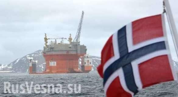 Добыча в Норвегии рухнула на 11%, нефть Европы заканчивается | Русская весна
