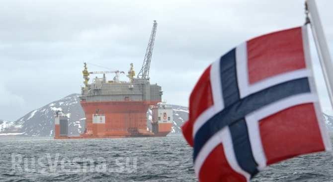 Добыча в Норвегии рухнула на 11%, нефть Европы заканчивается