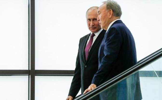 Владимир Путин подарит Назарбаеву и Казахстану Мировой океан