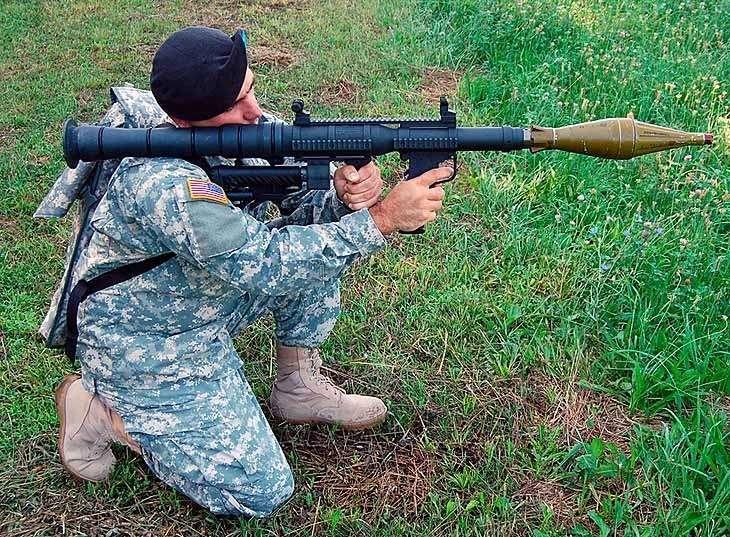 Пиндосы поставили украинским карателям крупную партию американского клона советского РПГ-7
