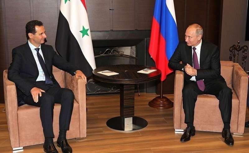 Президент Сирии Башар Асад посетил Россию срабочим визитом.