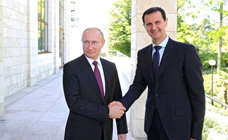 СПрезидентом Сирии Башаром Асадом.