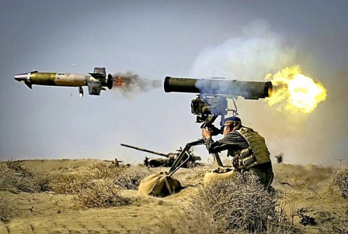 ПТРК Корнет для террористов в Сирии пламенный привет