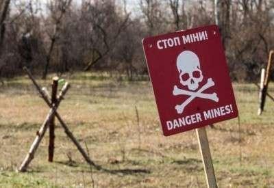 В Донбассе на украинском минном поле подорвались инструкторы НАТО